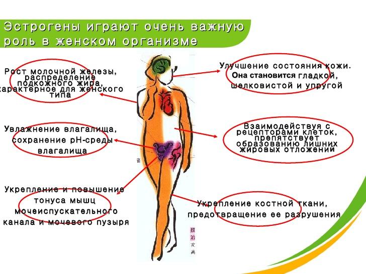 симптомы недостатка эстрогенов