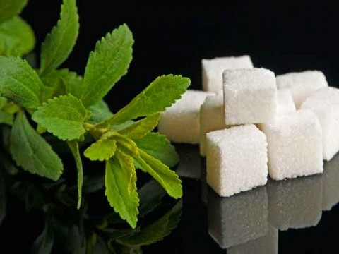 стевия и сахар