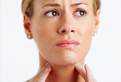Дискомфорт в горле
