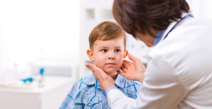 Увеличение щитовидной железы у детей