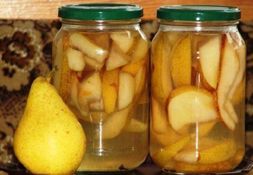 Печеные груши и яблоки при панкреатите