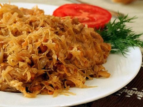 Салат из капусты при панкреатите